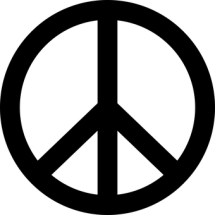 broken britain peace symbol mental health